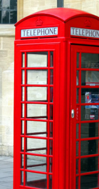 Red London Phone Box - How to make cheap calls abroad from a BT Payphone.